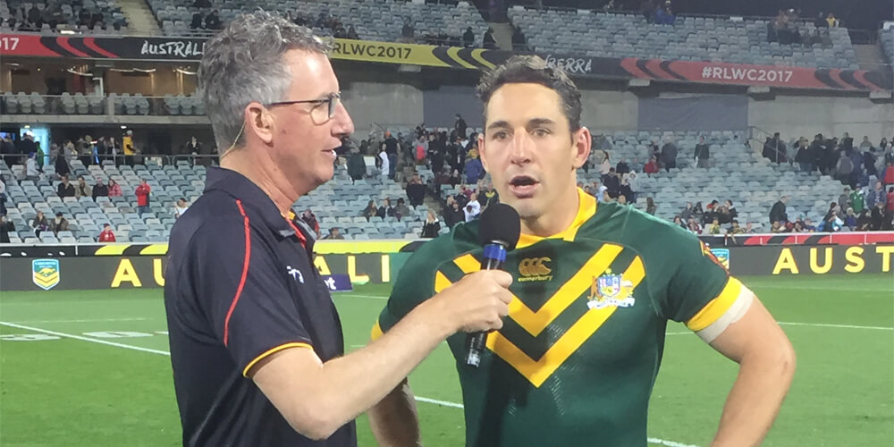 RL World Cup 2017 Interview with Billy Slater