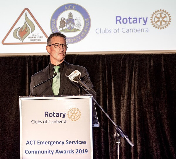 MC 2019 Rotary Emergency Services Community Awards