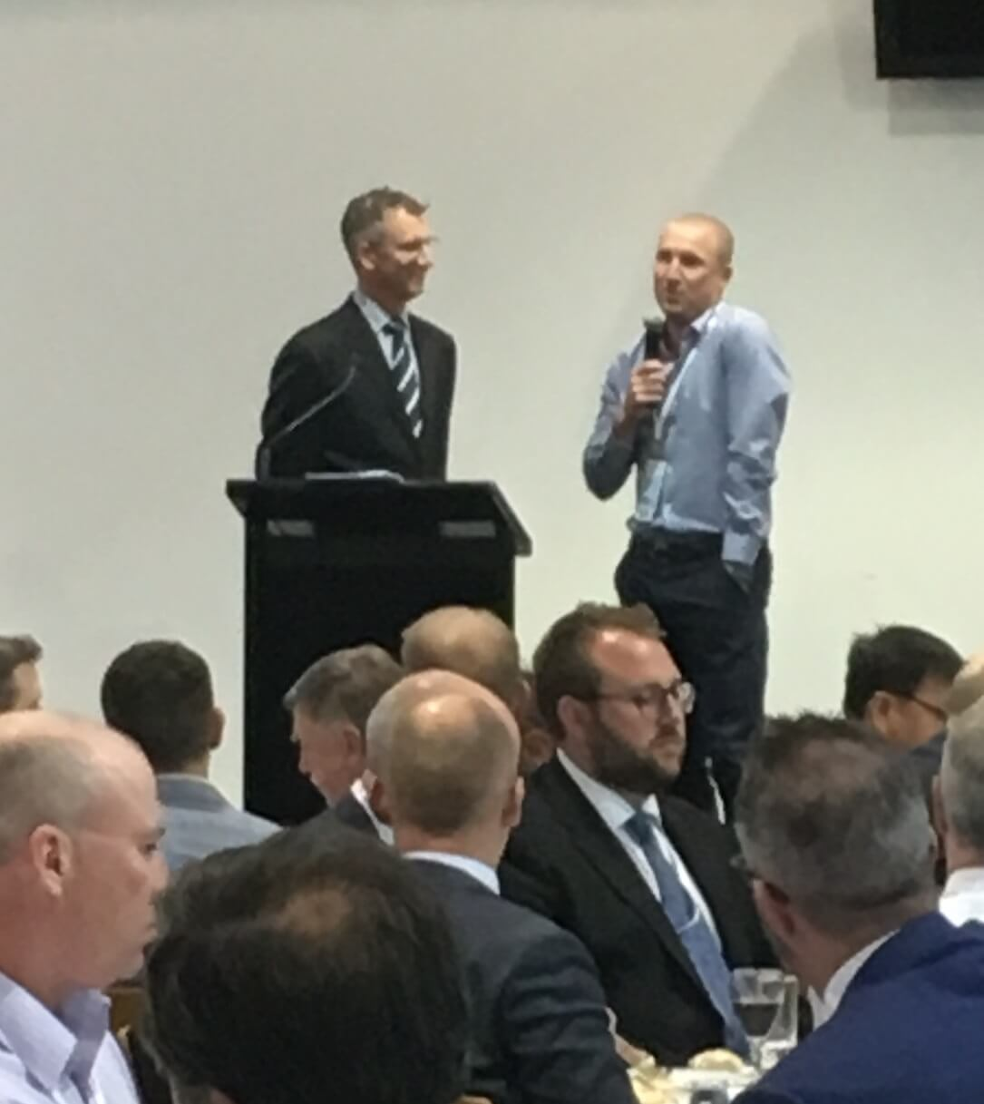 ODI 2016 Dinner Interval interview with Brad Haddin