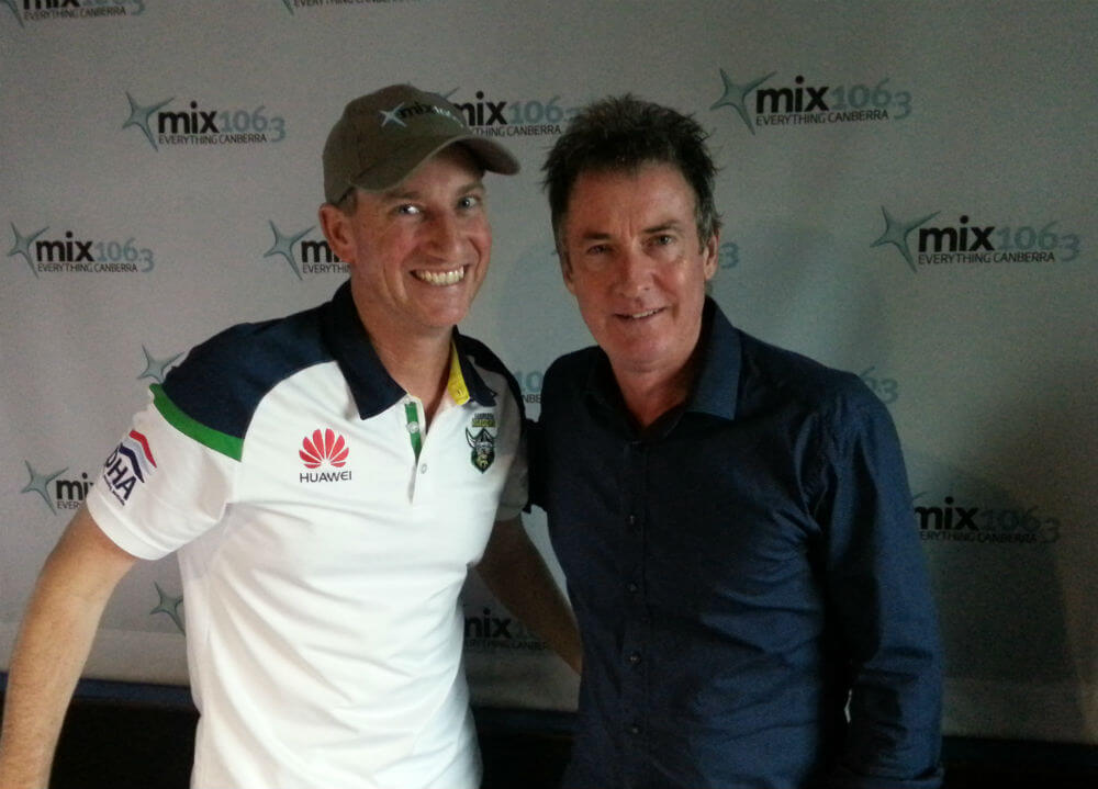2016 - Mix106.3 interview Rob Hirst from the mighty Midnight Oil