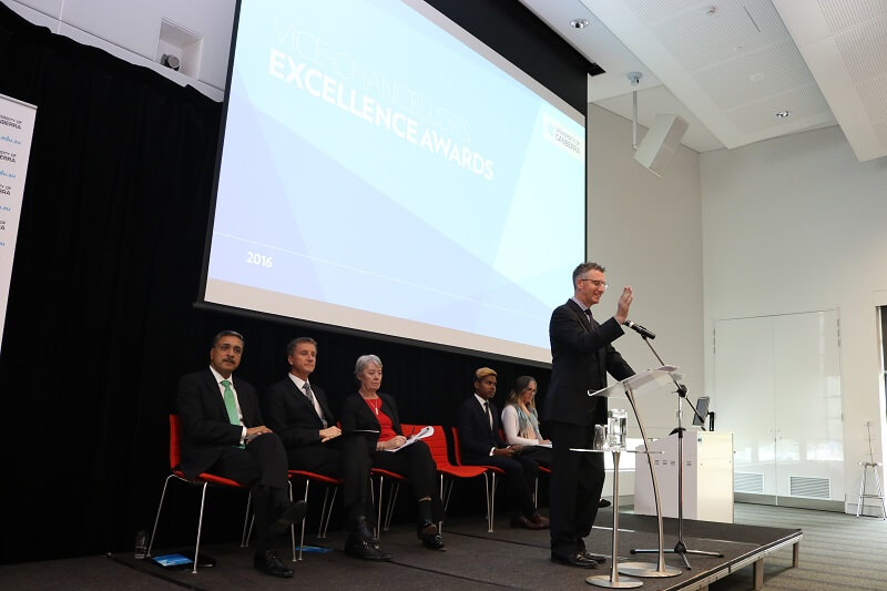 Master of Ceremonies 2016 University of Canberra VC Awards