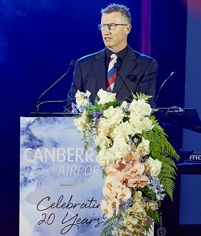 2018 - Host Canberra Airport 20th Anniversary celebrations