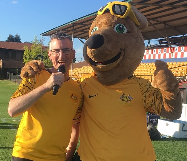 2019 - Host Socceroos Fan Day with Maloo
