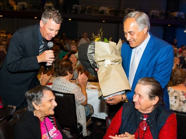 Host - 2015 Randwick Council Seniors Christmas event