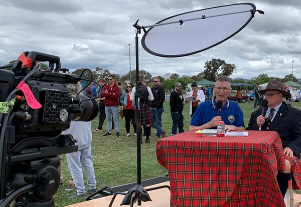 Host - 2019 Highland Gathering. Live stream to 45 countries