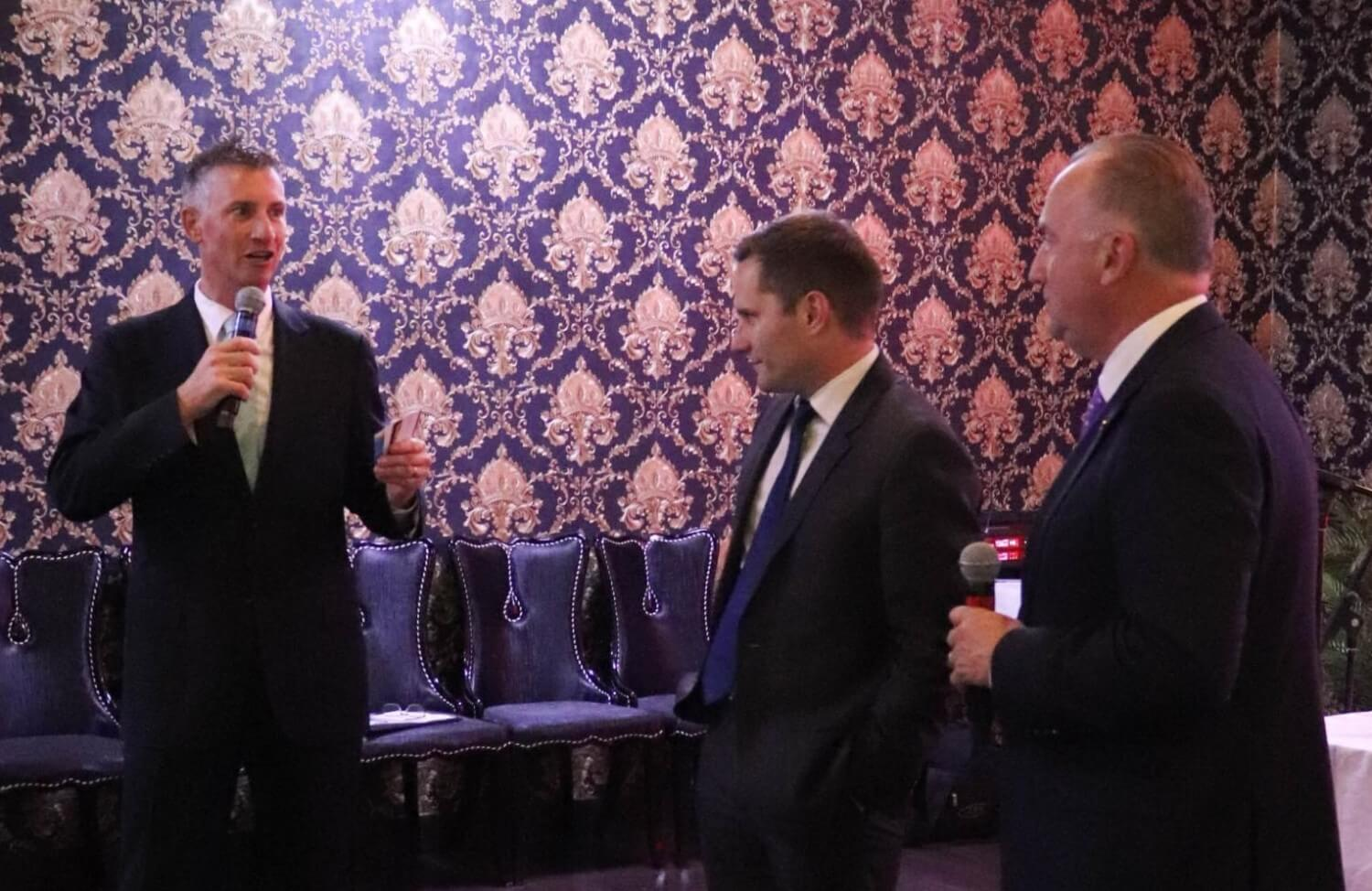 Interviewing - Alex Hawke MP and Steve Irons MP in 2019