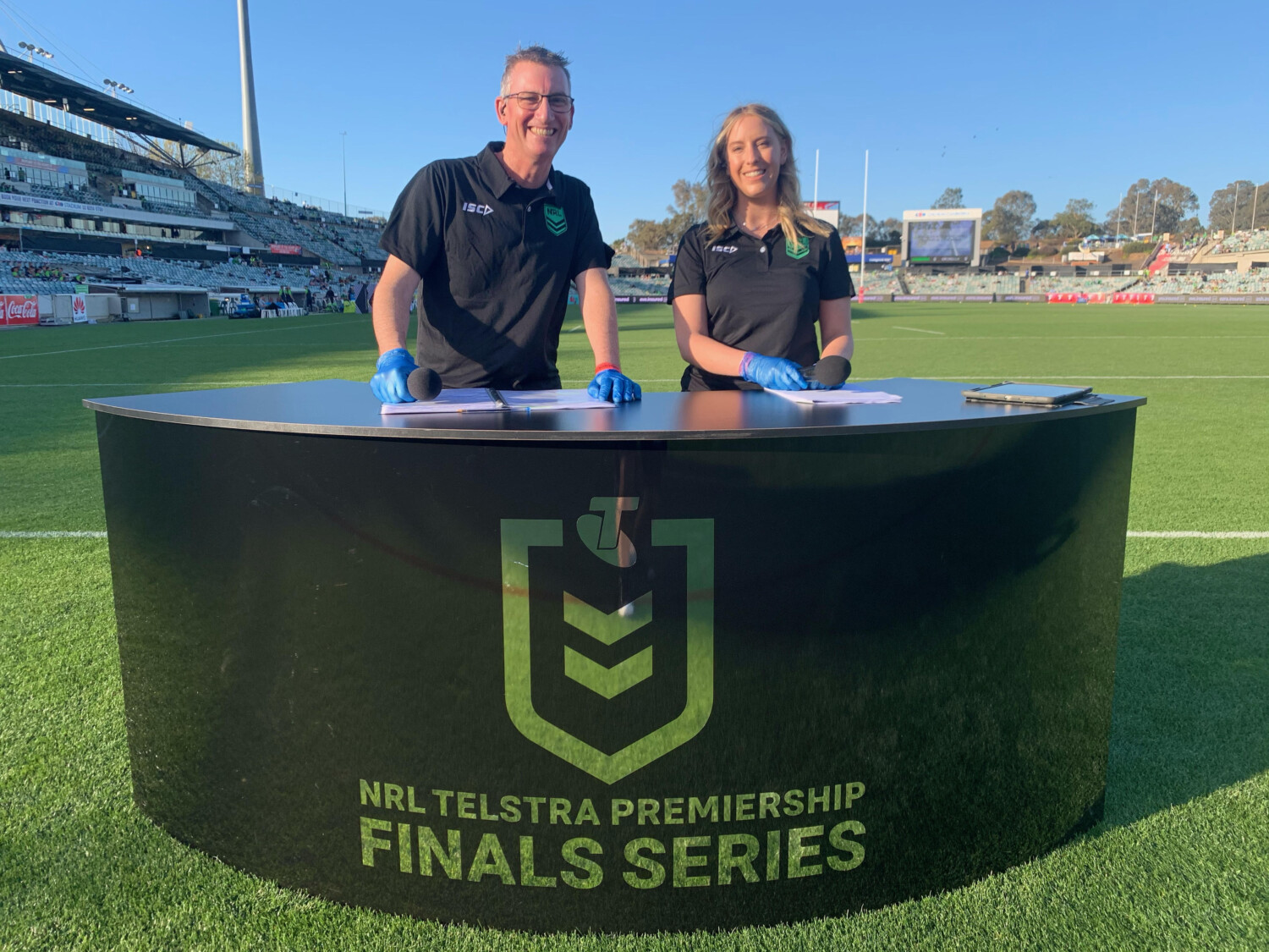 On ground MC Week 1 of the 2020 NRL Final Series