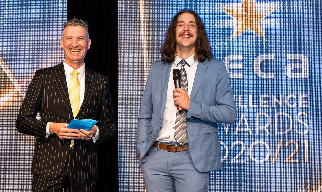 Host NECA Excellence Awards 2021